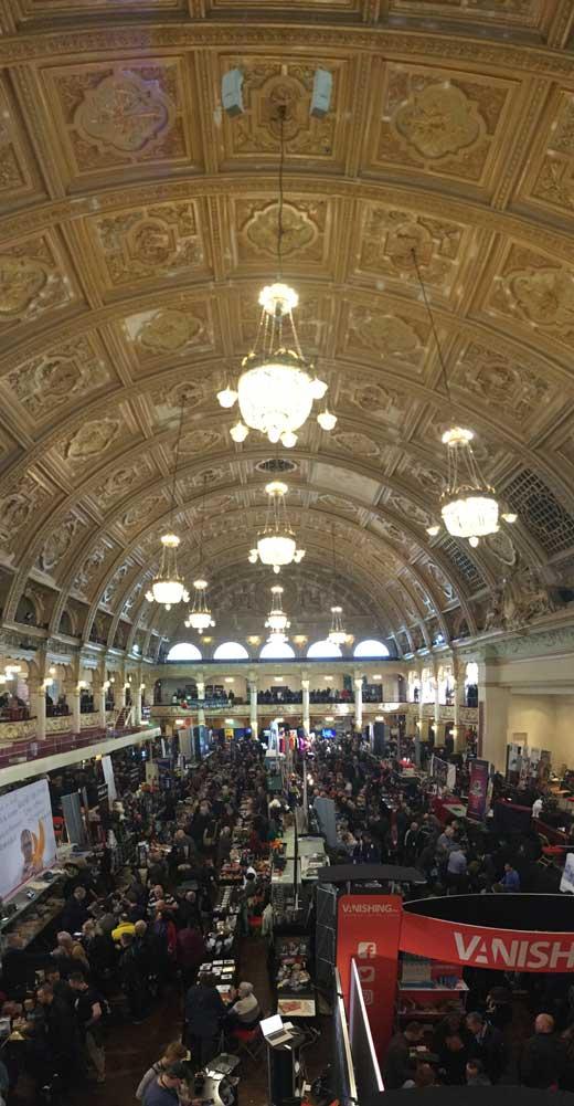 Marketing für Zauberer - auf der Blackpool Magic Convention