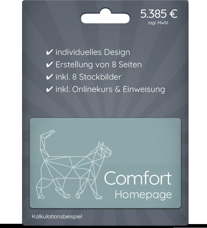 Comfort Homepage - der Klassiker