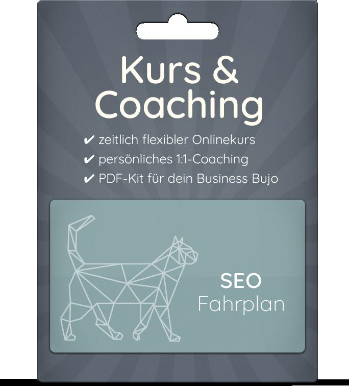 Dein Fahrplan für SEO & Onlinemarketing!