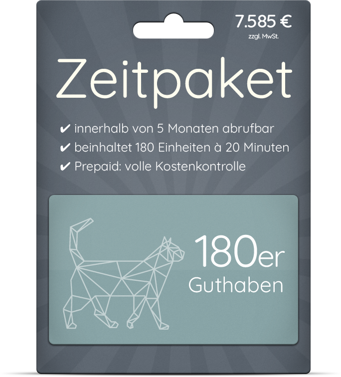 180er Zeitpaket Marketing on-demand